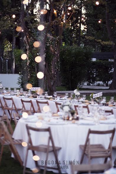 Banquete de boda exterior