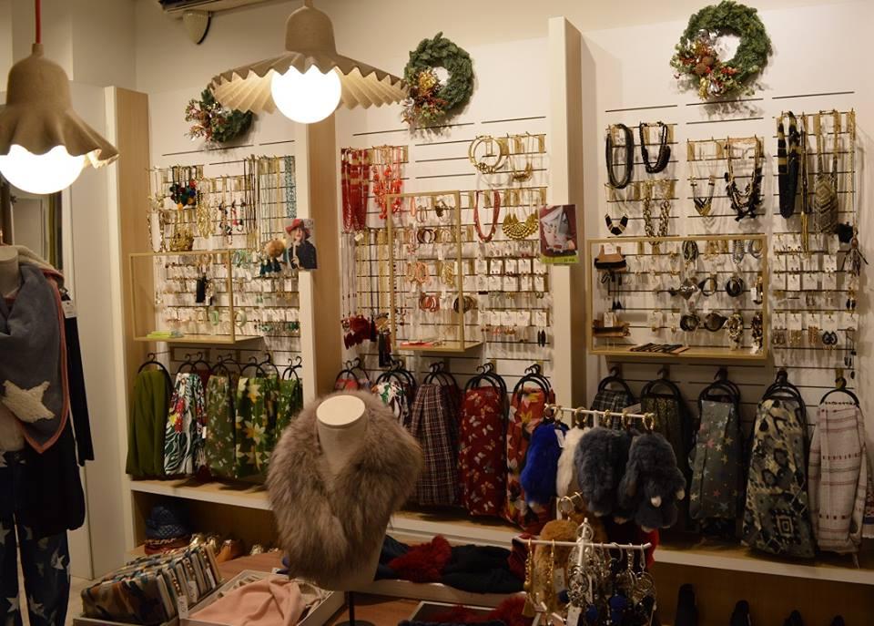 Decoración de tiendas en Navidad