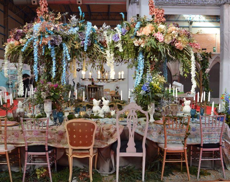 decoración de bodas: una espectacular mesa de boda en nupzial 17