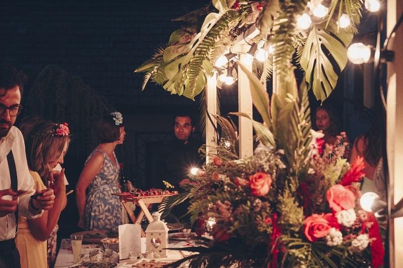 Cómo decorar cóctel boda