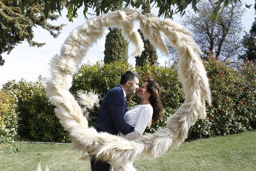 Aro de cortadeira boda